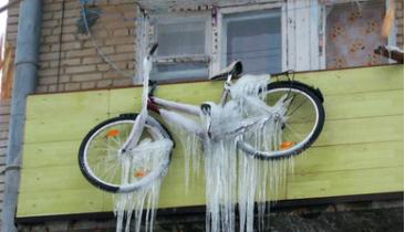 Где хранить велосипед зимой?
