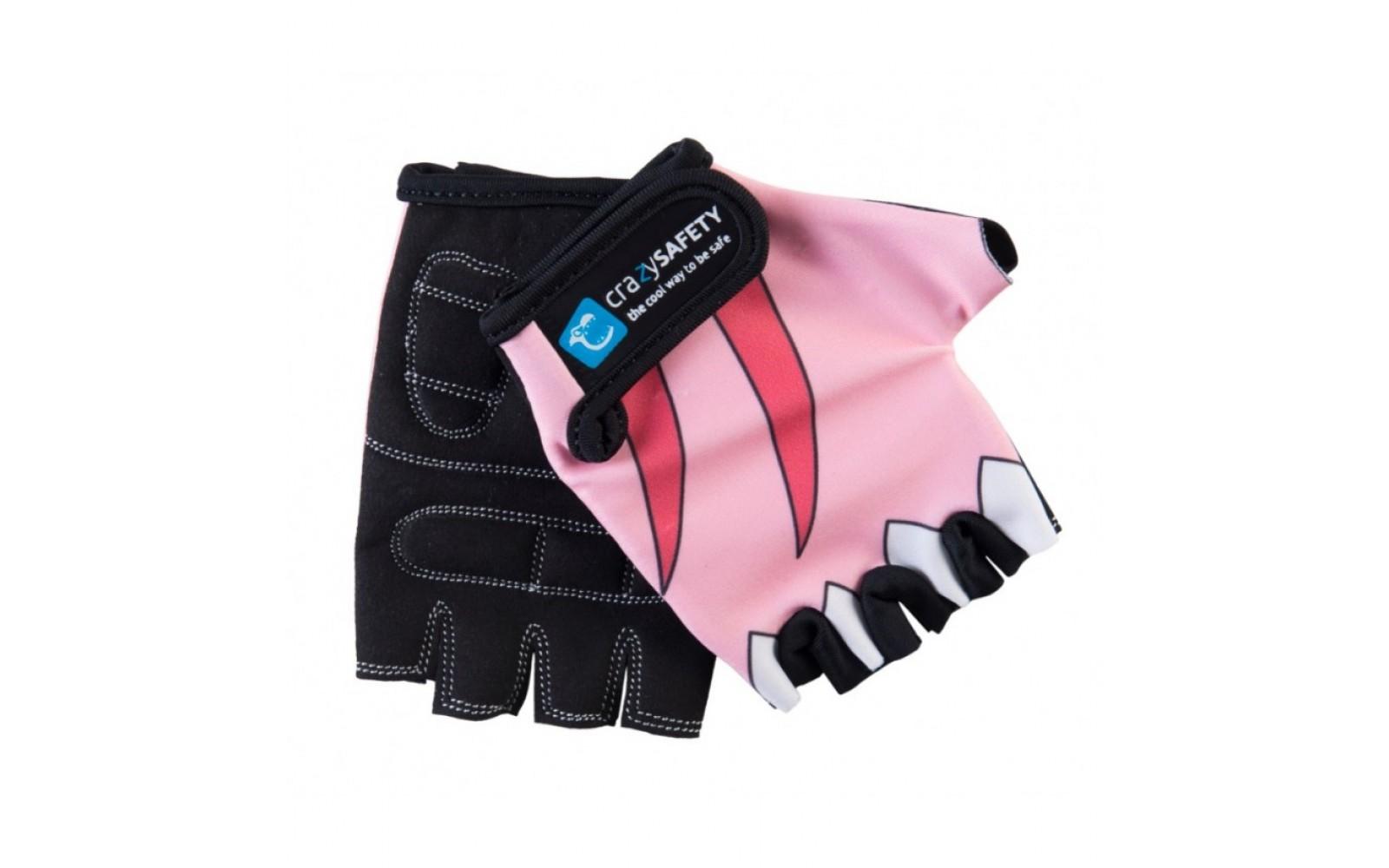 Перчатки Pink Shark (розовая акула) Crazy Safety