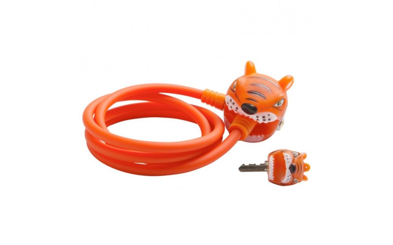 Замок Orange Tiger 2017 New (оранжевый тигр) Crazy Safety