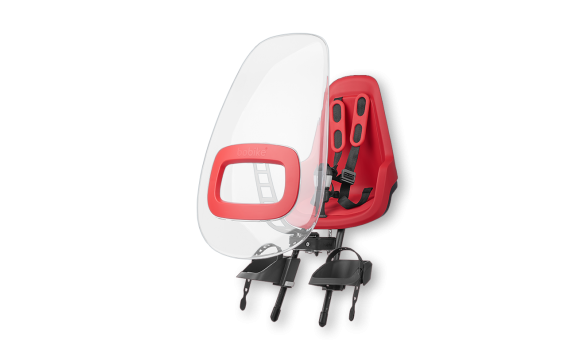 Ветровое стекло для детского кресла Bobike Windscreen ONE+ Strawberry Red