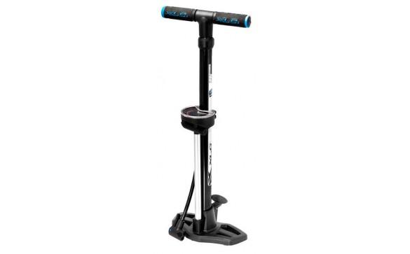 Напольный насос для велосипеда XLC PU-S02 Stand pump Beta 11 bar with Dualkopf