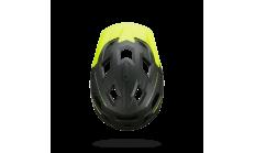 Велошлем BBB 2018 Nanga зелёный матовый/желтый