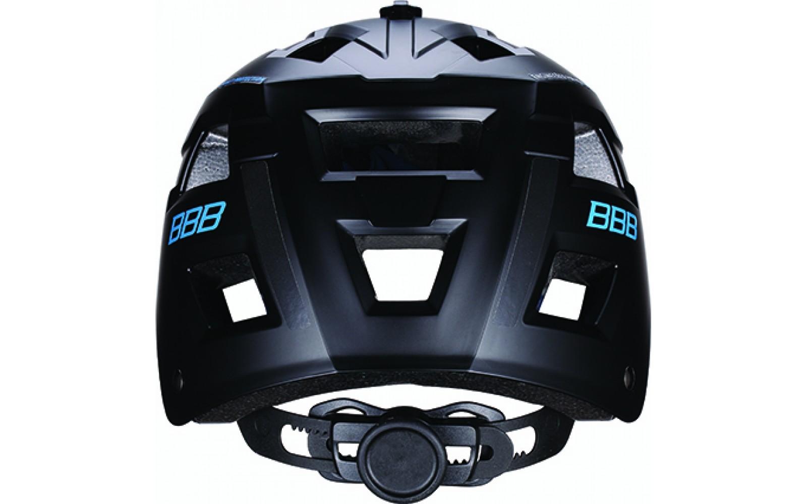 Велошлем BBB 2018 Nanga черный матовый/синий