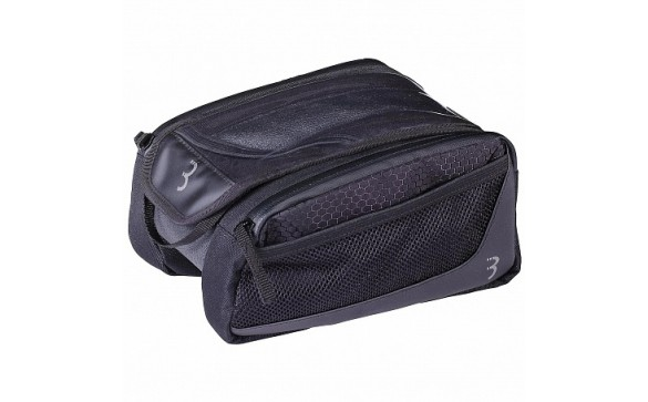 Велосумка BBB 2019 tubebag TopTank X toptube bag with phone pouch and side pouches 20 x 16 x 11cm - 1.5L black <i class=&quot;icon product-card_star-mask&quot;></i>