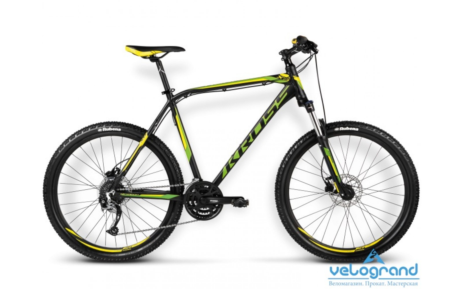 Горный велосипед Kross HEXAGON X6 (2016)