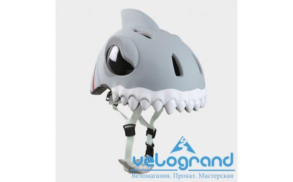Защитный шлем белая акула